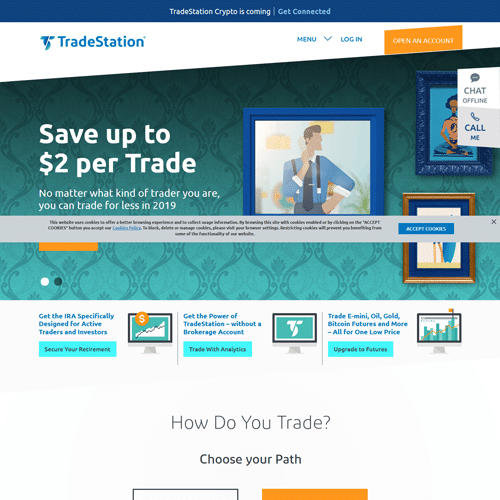 Tradestation Broker Review and feature comparison